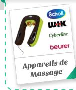 Appareils de Massage