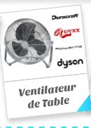 Ventilateur de Table